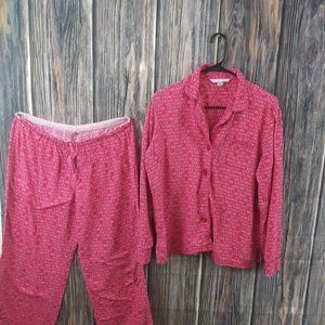 Victoria's Secret Pajama Set, Size Medium